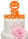 Pumpkin Personalised Surname Cake Acrylic Topper
